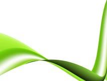 Green Wave Royalty Free Stock Photos