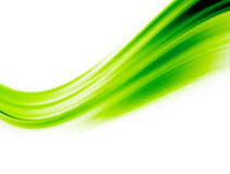Green wave Stock Image