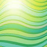 Green wave abstract light background Royalty Free Stock Images