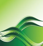 Green wave background Royalty Free Stock Images