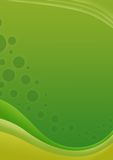 Green wave background Royalty Free Stock Photo