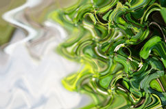 Green wave background. Royalty Free Stock Photo