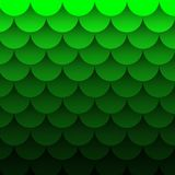 Green wave background curve line overlap paper layer and gradient colour for background design stock illustration