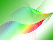 Green Wave Background Stock Photos