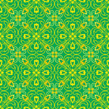 Green wave curve Pattern. Korean traditional Pattern is a Patter Stock Photography