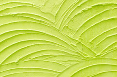Green wave pattern background. Green wave pattern cement wall background Stock Image