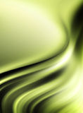 Green waves Royalty Free Stock Photography