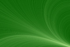 Green waves Stock Image