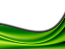 Green waves royalty free stock photos