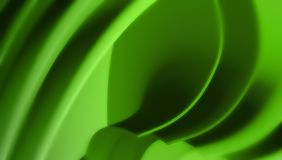 Green waves abstract background Stock Photos