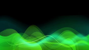 Green Waves stock footage