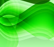 Green waves and light Royalty Free Stock Photos