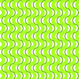 Green waving stripes seamless background. Vertical waving lines green seamless pattern background Royalty Free Stock Photos
