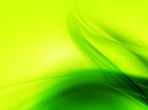 Green wavy background royalty free stock images
