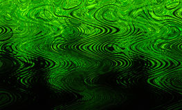 Green wavy texture. Modern green wavy background texture royalty free stock photo