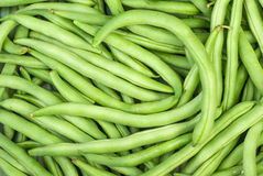Green wax beans. Abstract background: green wax beans Stock Images