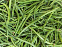 green wax beans. Background  green wax beans , close up Stock Photos