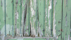 Green weathered paint Royalty Free Stock Photos
