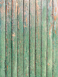 Green weathered plank Stock Images