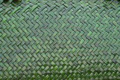 Green weave background Stock Photos