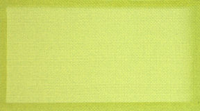 Green weave frame background Stock Photo