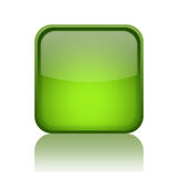 Green web button Royalty Free Stock Image