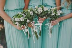 Green wedding Stock Photos