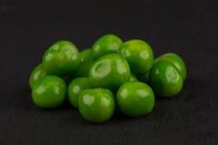 Green wet pea Stock Photo