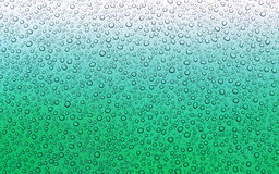 Green wet surface Stock Images