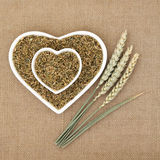 Green Wheat Freekeh Royalty Free Stock Photo