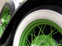 Green Wheels Royalty Free Stock Photos