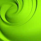 Green whirlpool Royalty Free Stock Photography