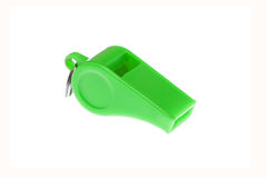 Green whistle Stock Images