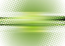 Green and white abstract shiny background. Green white abstract shiny halftone and stripes vector background Royalty Free Stock Images