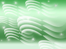 Green and white abstract Royalty Free Stock Photos