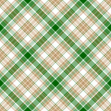 Green white beige fabric texture seamless pattern Stock Photography