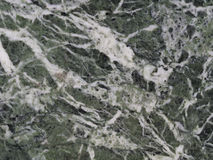 Green white black polished granite marble wall  - background tex Royalty Free Stock Photography