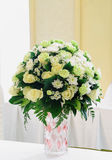 Green and white bouquet Stock Photos