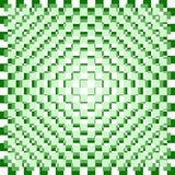 Green and white checktered pattern Royalty Free Stock Images