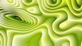 Green and White Curvature Ripple Background. Beautiful elegant Illustration graphic art design royalty free illustration