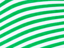 Green and white fabric Royalty Free Stock Photo