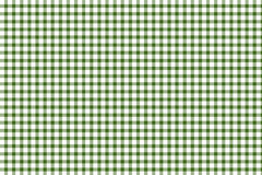 Green and white gingham Stock Photo