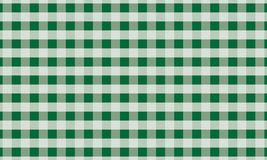 Green and white gingham background texture.Vector illustrat. Firebrick Gingham green and white pattern. Texture from rhombus/squares for - plaid, tablecloths vector illustration