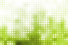 Green and White Glowing Futuristic Lights Royalty Free Stock Photos