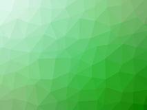 Green white gradient abstract polygon shaped background.  Royalty Free Stock Photos