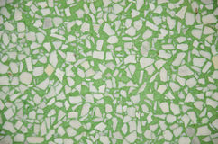 Green and white granite Stock Image