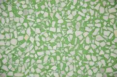 Green and white granite Stock Image