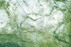 Green and white and gray natural marble pattern texture backgrou Royalty Free Stock Photo