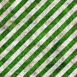 Green white grunge hazard stripes Stock Image