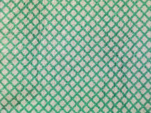 Green and white lattice Royalty Free Stock Image